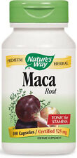 Maca Root - 100 Capsules - Nature's Way