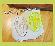 Spiderman Logo/face Uk Seller Cookie Cutter fondant cake decorating Mould