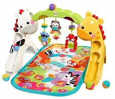 Fisher-Price CCB70 Newborn-to-Toddler THREE STAGES FLOOR Play Gym, BABY TOYS