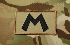 Replica M Squadron Embroidered Patch Shaky Boat Service UKSF Poole