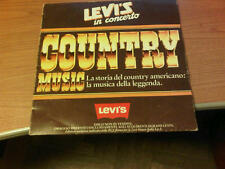 LP ITA VARIOUS ARTISTS  LEVI'S IN CONCERTO COUNTRY MUSIC SDN