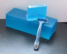 HANDMADE SHAVING SOAP SLICE FOR HIM WITH FREE GILLETTE RAZOR