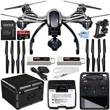YUNEEC Q500 4K Typhoon Quadcopter with Camera + SteadyGrip + Aluminum Case +More