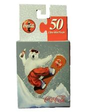 Coca Cola Coke L'Ours polaire Puzzle USA 1990-s - Jigsaw Snowboard Polar ours