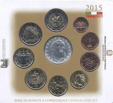 NEW!!! Euro ITALIA 2015 Folder Ufficiale 10 monete FDC Filippo Neri