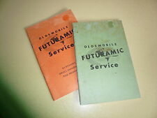 1949 Oldsmobile Futuramic Service Booklets (2) - Vintage