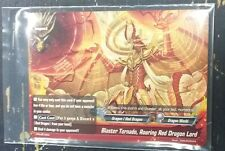 LOT OF 4 BUDDYFIGHT BLASTER TORNADO ROARING RED DRAGON LORD