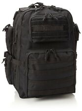 New Authentic Tru-Spec Black Gunny Series Tour Of Duty Backpack 4801000