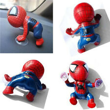 Hot Red Spider Man Suction Cup Doll Auto Car Dash Display Dashboard Decoration