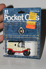 TOMY TOMICA POCKET CARS #134-F13 1915 FORD MODEL T DELIVERY, HAPPY HOME BREAD #7