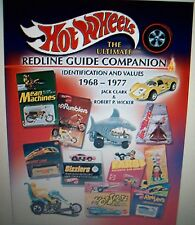 HOT WHEELS Ultimate Redline Guide Companion PRICE GUIDE COLLECTORS BOOK