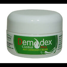Demodex Control Cream for Treatment of Mites Acne Rosacea Blemishes Itchy Skin