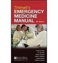 Tintinalli's Emergency Medicine Manual 7th Edition Emergency Medicine Tintinal