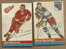 1954 TOPPS HOCKEY BILL DINEEN # 57  RED WINGS