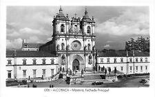 BR19583 Alcobaca mosteiro fachade principal    portugal