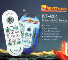Universal AC Remote- Carrier, LG, Midea,TCL, Mitsubishi, Sanyo, Samsung, more