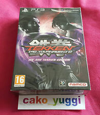 TEKKEN TAG TOURNAMENT 2 WE ARE TEKKEN EDITION SONY PS3 NEUF EN FRANCAIS