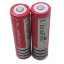 New 2x 3.7V 18650 Li-ion 6800mAh Rechargeable Battery For UltraFire LED Torch