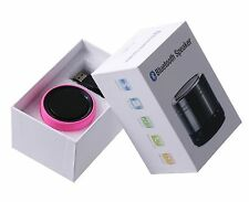 Bluetooth Wireless Mini Portable Audio Speaker For Apple iPod iPad iPhone- Pink