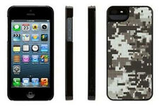 Griffin Pixel Crash QR Camo Case for iPhone 5, Black Hard Shell NEW GB35527