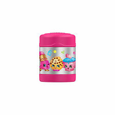 Thermos Shopkins Funtainer Stainless Steel Food Jar - Pink (10oz)
