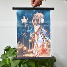 HOT Anime SAO Sword Art Online Jasna Tung Wall Poster Scroll Cosplay Fan's Gift