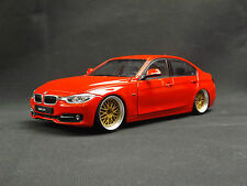 Custom Modified 1:24 2015 BMW 335i BBS Alloys German sports Car Stanced