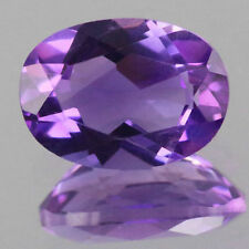 7x5mm 1pc Oval Cut Natural AA Purple Africa Amethyst