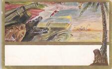 C3134) FUTURISMO, LIBIA, DERNA, 2 COMPAGNIA CANNONIERI.