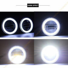 For Ford C-Max 2013-2016 LED Angel Eyes Daytime Running Light Fog lamp