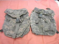 Lot of 2 Molle ll ACU Sustainment Utility Pouch US Army Rucksack Main Bag Defect