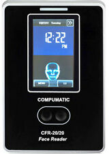 NEW COMPUMATIC CFR-20/20 BIOMETRIC FACE RECOGNITION TIME CLOCK PACKAGE SEE VIDEO