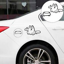 Cartoon CAT Decal Vinyl Car Tank Pad Laptop Window Wall Bumper Sticker hot