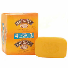 Wrights Coal Tar Soap (4 x 125g)