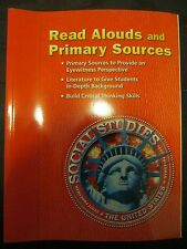 Scott Foresman Social Studies The United States Read Alouds and Primary Sources