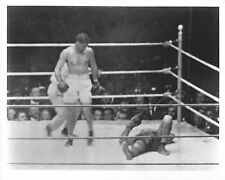 JACK DEMPSEY KO's BILLY MISKE 8X10 PHOTO BOXING PICTURE