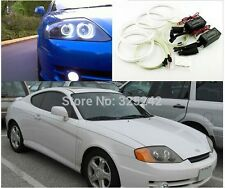 4x Excellent CCFL Angel Eyes kit For Hyundai Tiburon 2003-2006 Halo Ring