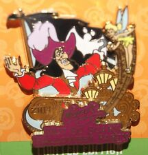 DISNEY 2014 CAPTAIN HOOK AND TINKERBELL HALLOWEEN PARTY LE 4500 PIN