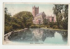 Wells Cathedral 1904 Postcard 144a