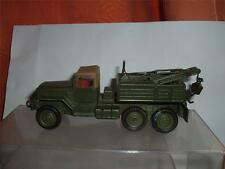 CORGI GMC BREAKDOWN DONE IN ARMY COLOURS A TERRIFIC MODEL REALLY HEAVY SEE PICS