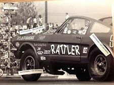 Jim Jersey Rattler NHRA 8x10 Vintage Photo Ford Mustang