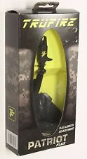 New Trufire Patriot Flex Compound Bow Release Aid Black Wrist Strap PTM