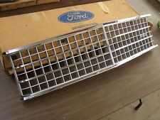 NOS 1978 1979 1980 Ford Fairmont Grille Chrome + Painted Trim
