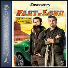 FAST N LOUD - ULTIMATE COLLECTION - COMPLETE SERIES 1 2 & 3 *BRAND NEW DVD *
