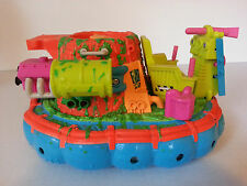 1991 TOXIC CRUSADERS HIDEOUS HOVERCRAFT Playmates loose boat vehicle