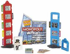 Monopoly Hotels Board Game, Build Your Hotel Fast