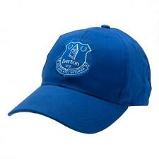 Official Licensed Football Product Everton Cap Hat Baseball Blue Crest Gift New