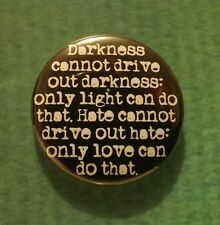 MALCOLM X QUOTE 25mm Badge BLACK REVOLUTIONARY INSPIRATIONAL PANTHERS PIN hiphop