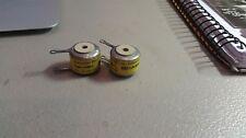 2 Shallcross NOS 200K Ohm 1% Precision Wire Wound Resistors