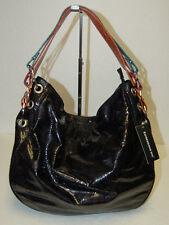 NEW Designer NYC Expressions Black Shoulder Bag Hobo Handbag Satchel Tote Purse